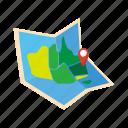 adventure, australia, colorful, landmark, map, object, route icon