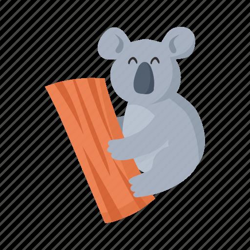 australia, colorful, koala, landmark, object icon