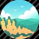 australia, blue mountain, landscape, mountain, national park, nsw icon