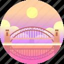 australia, bridge, harbour, harbour bridge, landmark, sydney icon
