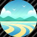 australia, barrier reef, whitehaven, whitsunday, whitsunday islands icon