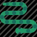 animal, australia, snake icon