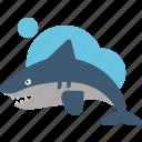 animal, australia, shark icon