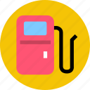 gas station, supply icon