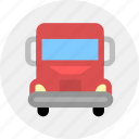 convey, haul, ship, transport, truck, vehicle icon