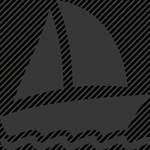 boat insurance, sailboat, watercraft, yacht icon