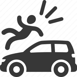 accident insurance, auto insurance, car insurance, injury icon