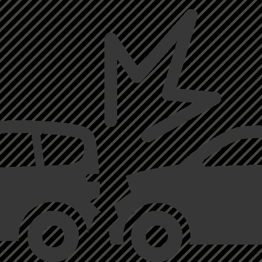 accident insurance, auto insurance, car insurance, collision icon