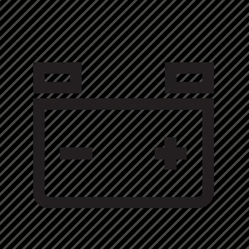 Auto, automobile, automotive, battery, bolt, car, parts icon - Download on Iconfinder