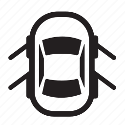 auto, car, doors, left, open, parts, right icon