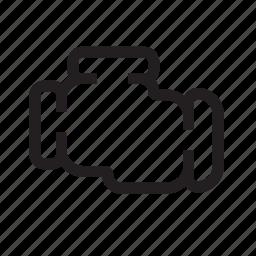 auto, engine, motor, parts, power icon