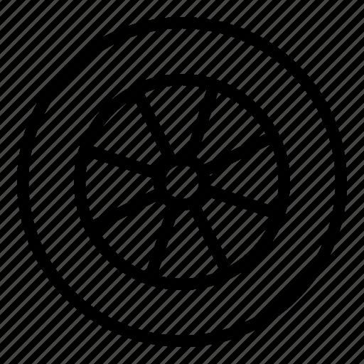 auto, parts, tire icon