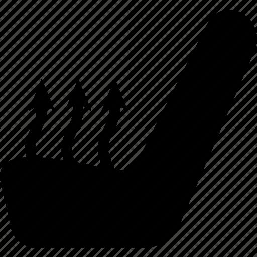 arrow, auto, butt warmer, car, seat, temperature icon