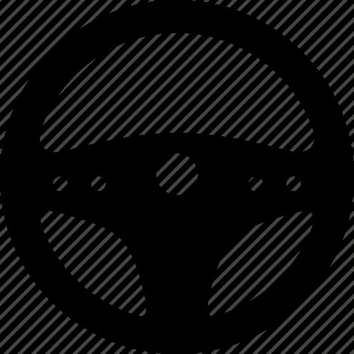 auto, automotive, car, steering, wheel icon