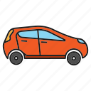 auto, automobile, car, drive, sedan, transport, vehicle icon