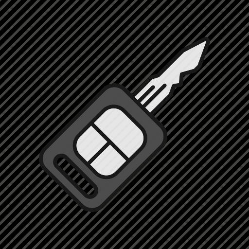 automobile, car, close, key, lock, open, unlock icon