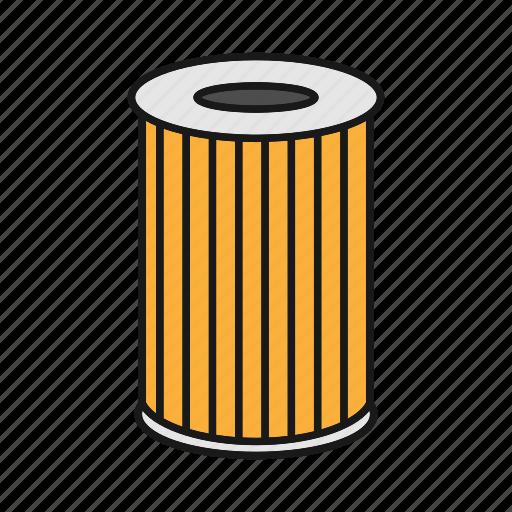air filter, auto, automobile, car, filtration, part, vehicle icon