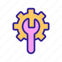 automation, contour, linear icon