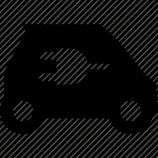 car, electric, plug, power, smart icon
