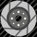 brake disc, brake pad, brake system, car brake, transportation disc brake icon