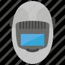 fume extractor, mechanic helmet, mechanical tool, welding fume, welding helmet icon