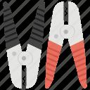 cutter, farming scissor, metal sequitur, plier, repairing tool icon