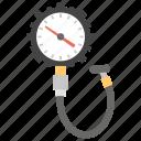dashboard, meter, pressure gauge, pressure sensitive meter, speedometer, tyre gauge icon
