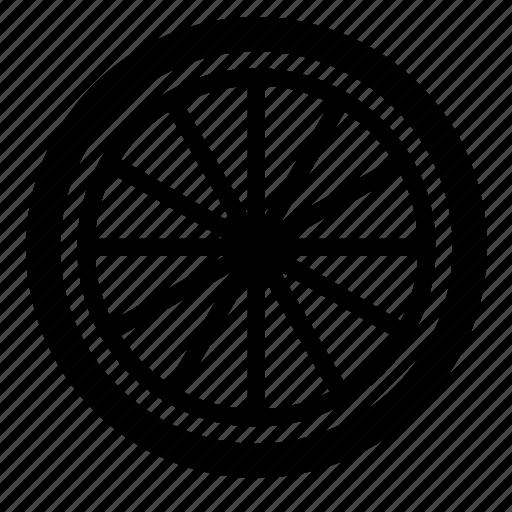 car, spokes, tyre, vehicle, wheel icon