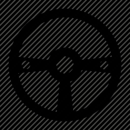 car, drive, steering, vehicle, wheel icon