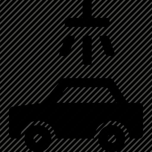 automobile, car, foam, spray, vehicle, wash, water icon