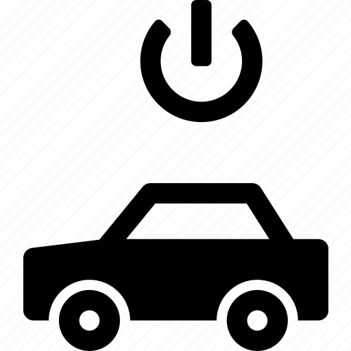 automobile, car, electric, power, standby, vehicle icon