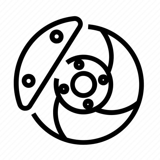 Brake, brembo, calliper, disk, pads icon - Download on Iconfinder
