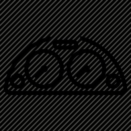 Cluster, dash, dashboard, dial, gauge, instrument icon - Download on Iconfinder