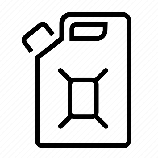Can, container, fuel, jerry, steel icon - Download on Iconfinder