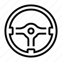 aftermarket, momo, racing, steering, wheel icon
