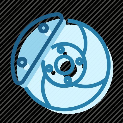 brake, brakes, brembo, calliper, disk, pads icon