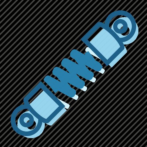 absorber, back, coil, damper, front, shock icon