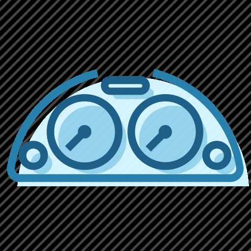 cluster, dash, dashboard, dials, instrument, panel, speedometer icon