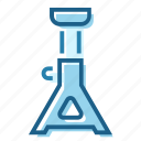 jack, lift, safety, stand, support icon