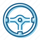 control, momo, racing, steering, wheel icon