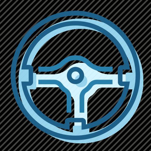 control, momo, racing, steering, wheel icon