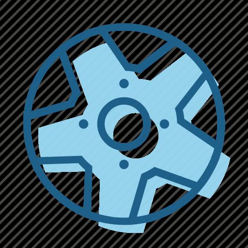 alloy, rim, spoke, steel, tire, wheel icon