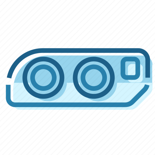 Beam, light, roadlight, tail, taillight, xenon icon - Download on Iconfinder