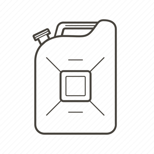 can, canister, car, fuel, gas, gasoline, oil icon