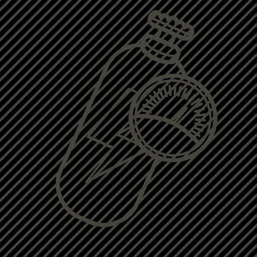 car, gauge, nitro, no2, performance, speed icon