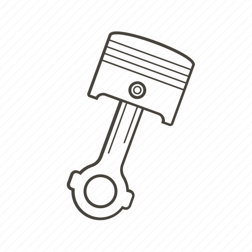 car, car parts, engine, part, piston, vehicle icon