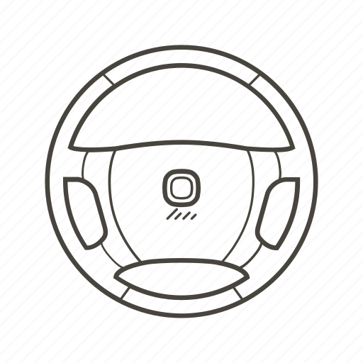 auto, car parts, drive wheel, handling, steer, steering, wheel icon