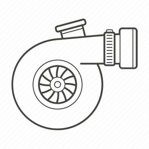 Car Car Parts Part Performance Turbine Turbo Vehicle Icon