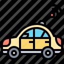 antenna, car, communication, frequency, radio icon