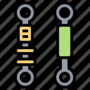 car, damper, parts, repair, suspension